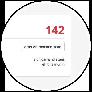 on-demand scan